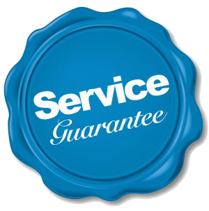 warranty and our service guarantee